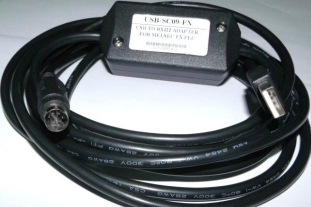 三菱plc数据线,三菱plc编程电缆